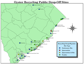 Oyster Recycling Public Drop-Off Sites